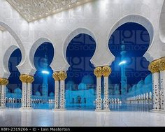 Gran Mezquita Sheikh Zayed en Abu Dhabi Emiratos Árabes Unidos.