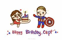 Happy Birthday, Captain ♡   #4thofJuly