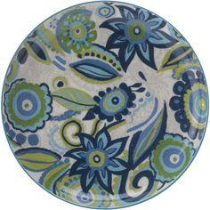 Christopher Vine Gypsy Side Plate, Blue, 18.5cm