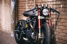 forthefreshkids - northernrooster: Sacha Lakic's Honda CX500 Cafe...