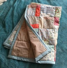 How to make your first ever quilt.