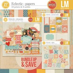 Eclectic bundle by Lynne-Marie