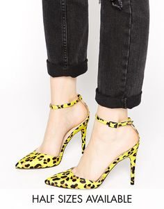 Image 1 ofASOS PROMPT Pointed High Heels