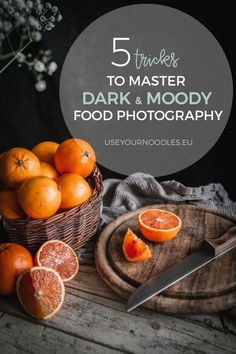 5 Tricks To Master Dark And Moody Food Photography - Use Your Noodles <br> These five easy tips and tricks will help you get better at dark and moody food photography and create jaw-dropping still life moody shots. Flash Photography Tips, Food Photography Lighting, Food Photography Props, Photography Tutorials, Photography Hashtags, Photography Composition, Photography Backgrounds, Portrait Photography, Inspiring Photography