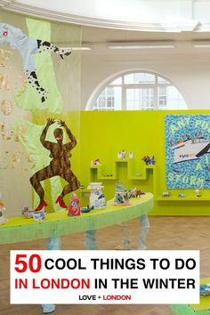 Art galleries are great to visit when it's cold in London and you need something to do. This list includes unique galleries and museums to visit when it's cold in London.