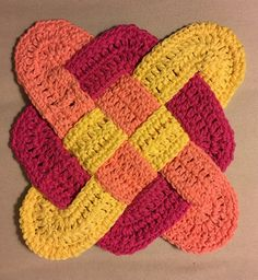 A personal favorite from my Etsy shop https://www.etsy.com/listing/541269473/crochet-hot-pad-trivet-pot-holder