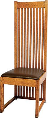 Frank Lloyd Wright Robie House chair