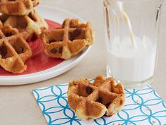 Waffled Chocolate Chip Cookies Recipe : Food Network Kitchen : Food Network - FoodNetwork.com