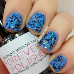 Plump and Polished: Forever Polished - Midnight with Mickey