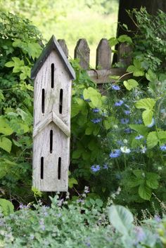 .butterfly houses.. cute alternative to birdhouses..