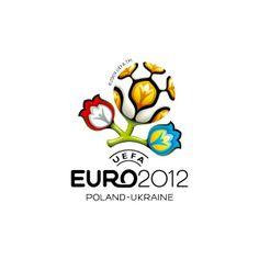 I Love Ligatures / UEFA EURO 2012 - logo  The Gravity Fighting Portuguese firm Brandia Central created the identity. http://www.brandiacentral.com/ copyright of UEFA // #logo