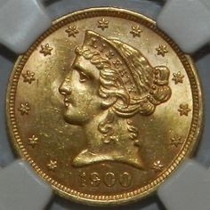 1900 $2 1/2 Dollar Liberty Head Quarter Eagle NGC MS 62 $750.00 OBO + $10.50 Shipping