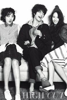 f(x) - Sulli & Krystal with Minho [SHINee] <3