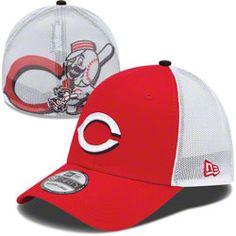 4d0118bf25f Cincinnati Reds MLB New Era Double Up Stretch 39THIRTY Strech Fit Hat   24.99 http