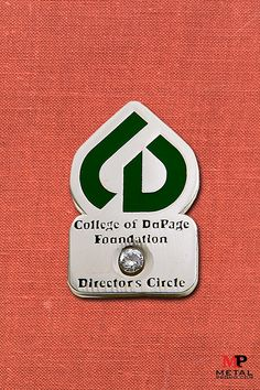 Check out this pin we created for the College of DuPage Foundation 🎓 Start the pin creation process for your organization or group by contacting us today 📞 College Of Dupage, Custom Coins, Running Medals, Metal Business Cards, Types Of Pins, Free Artwork, Price Quote, We The Best, Custom Metal