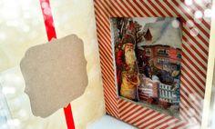 libro con sorpresa interna, Babbo Natale consegna i regali : Altra cartoleria di chiara-scrap-chic