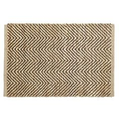 Jute Chevron Rug - Brown (for Kitchen) Chevron Rugs, Pier 1 Imports, Home And Living, Floor Rugs, Jute, Family Room, Living Spaces, Sweet Home, Kitchen Mats