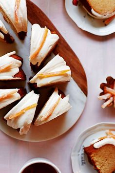 Honey Grapefruit Bundt Cake