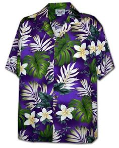 Pacific Legend Tropical Floral Monstera and Plumeria Hawaiian Shirt (Small, Purple) Pacific Legend http://www.amazon.com/dp/B00CO5FLNA/ref=cm_sw_r_pi_dp_tdlcvb0JQNT12