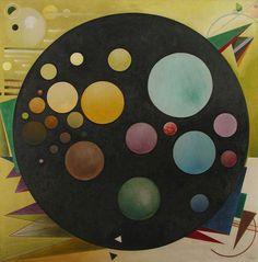 Tetraptychon II (1930) by Rudolf Bauer (German 1889–1953)