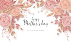 Black background · red background · mother's day card with elegant flowers Vintage Grunge, Cute Wallpaper Backgrounds, Cute Wallpapers, Women's Day Cards, Free Frames, Cute Wallpaper For Phone, Sewing Art, Elegant Flowers, Flower Quotes