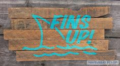 Hey, I found this really awesome Etsy listing at https://www.etsy.com/listing/221998694/fins-up-key-west-sign-jimmy-buffett