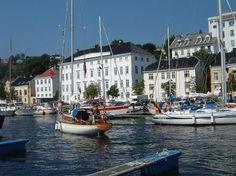Arendal harbour, Norway . Photo: Eirik Mykland