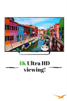 Join the 4K revolution with a Sony TV powered by Android TV, boasting four times more clarity than HD. Everything you watch-sports, TV shows, movies-is upscaled for 4K Ultra HD viewing.