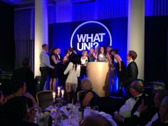 Swansea University collects the award for Best University at the 2014 What Uni? Student Choice Awards!!
