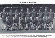 Team pics 1968-1975 Chelsea Fc Team, Chelsea Football, Back Row, Front Row, Interesting Photos, Cool Photos, John Hollins, Peter Bonetti, David Webb