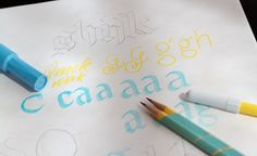 Making Your First Font—A Little Guidance. #typography #design