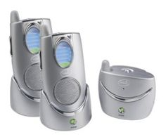 Summer Infant Secure Sounds 2.4 GHz Digital Audio Monitor with 2 Parent Receivers – Silver | Baby Safety Products.