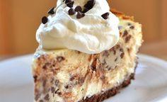 Pastel de queso con chocochips