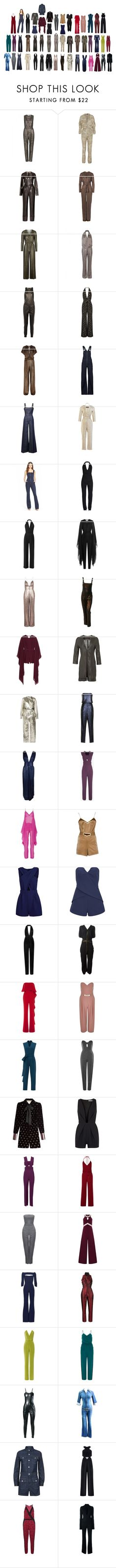 """""""JUMPSUITS: My favorites-1"""" by misshollowpointslug ❤ liked on Polyvore featuring sass & bide, Pedro del Hierro, Elie Saab, Emilio Pucci, Oh My Love, Gucci, R13, Cushnie Et Ochs, Temperley London and Citizens of Humanity"""