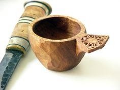 Water of Life Uisce Beatha Whiskey Cup by wilderwoodworking
