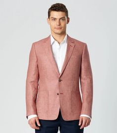 New arrivals by Shop online or instore now Blazers For Men, Black Blazers, Business Shirts, Linen Blazer, Models, Wedding Suits, Mens Fashion, Fashion Menswear, Houndstooth