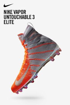 00db0107182c17 Cleats faster than ⚡. Nike Vapor Untouchable 3 Pros are made for the most  electric
