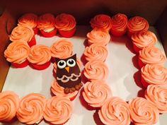A cupcake cake is a creative alternative to a traditional birthday cake!  www.confectionperfectioncakes.com  #customcupcakes #confectionperfection #cupcakesatlanta #cupcakesmarietta