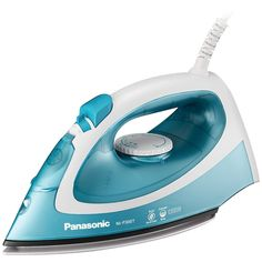 Panasonic Steam-circulating Iron - 1,500w Curved, Nonstick Titanium-coated Soleplate Reduces Tags & Snags Easy-dial Precision Temperature Control Adjustable Settings Quickly Generate The Perfect Level Of Steam 360? Rotating Power Cord Prevents Tangles Steam Vents Are Kept Clog-free With Anti-calcium Cleaning System