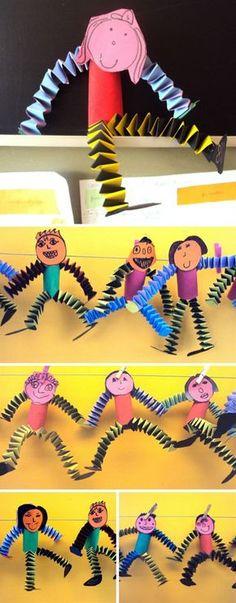 Paper Jumping Kids