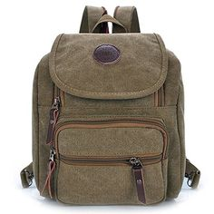 83a79ac263 Hiigoo Multi Zipper Pocket Small Cross Body Shoulder Bag Backpack     Learn  more by visiting the image link.