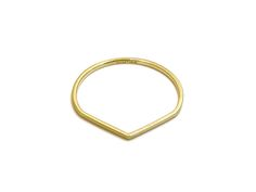 gold ring no.5 | recycled 14k gold | handmade in nyc