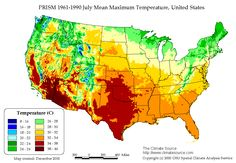 Image Result For Usa Average Low Annual Temperature Map Moderate - Us low temperature map