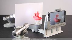 Smartphone Photo Studio for #3DBenchy and tiny stuff by CreativeTools.