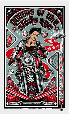 Queens of the Stone Age by Chris Harwell