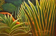Henri Rousseau Jungles - Elementary Art with Mrs. Steuer