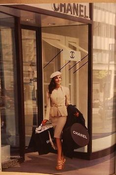 Shopping Chanel style