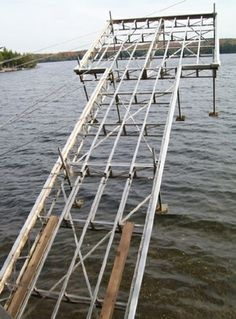 Towered Lift Dock