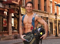 Great-grandmother loses it over hunky firefighter calendar christmas gift