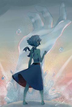 Steven universe,фэндомы,SU art,SU Персонажи,Lapis Lazuli: